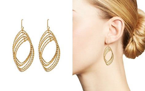 Bloomingdale's Textured Multi Marquise Drop Earrings in 14K Yellow Gold - 100% Exclusive _2