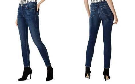 KAREN MILLEN High-Rise Skinny Jeans in Denim - Bloomingdale's_2