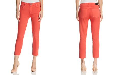 Parker Smith Pedal Pusher Cropped Straight-Leg Jeans in Sunburst - Bloomingdale's_2