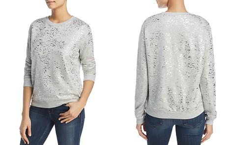 Majestic Filatures Metallic Splatter-Print Sweatshirt - Bloomingdale's_2