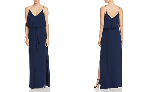 Laundry by Shelli Segal Tiered Chiffon Gown - Bloomingdale's_2