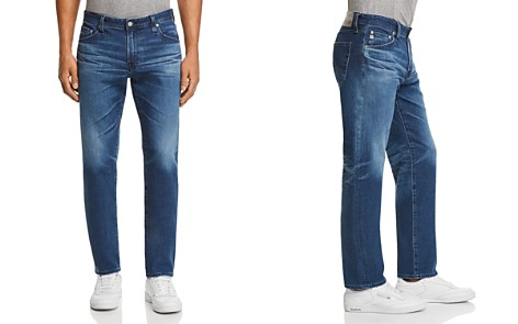 AG Graduate Slim Straight Fit Jeans in 10 Years Paperback - Bloomingdale's_2