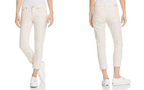 AG Prima Crop Straight Jeans in 1 Year Coastal Stripe Prism Pink - Bloomingdale's_2