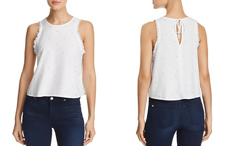 Bella Dahl Beaded Frayed Top - Bloomingdale's_2