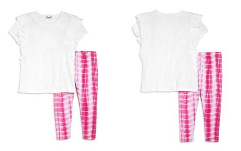 Splendid Girls' Ruffled Tee & Tie-Dye Leggings Set - Little Kid - Bloomingdale's_2