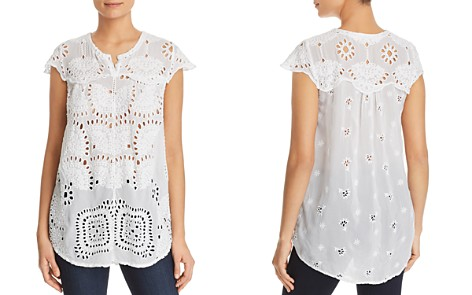 Johnny Was Marietta Lace Tunic Top - Bloomingdale's_2