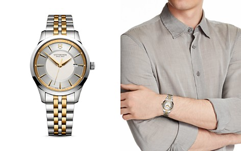 Swiss Army Two-Tone Stainless Steel Alliance Watch, 40mm - Bloomingdale's_2