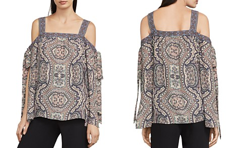 BCBGMAXAZRIA Kail Cold-Shoulder Top - Bloomingdale's_2