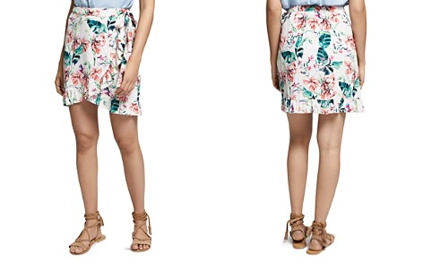 Sanctuary Tropicana Ruffled Wrap Skirt - Bloomingdale's_2