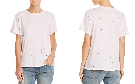 Michelle by Comune Rayle Distressed Tee - Bloomingdale's_2