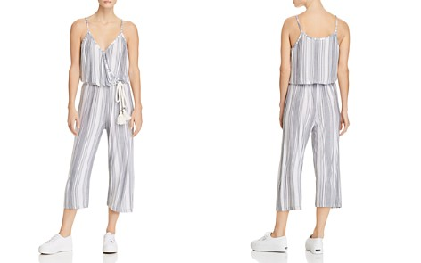 Vintage Havana Striped Cropped Jumpsuit - Bloomingdale's_2