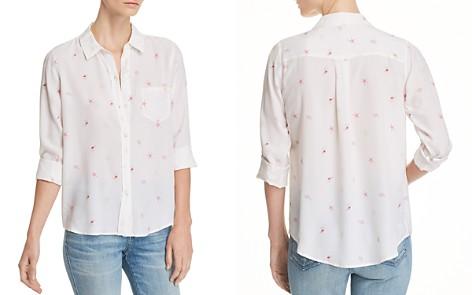 Rails Kate Seashell Print Silk Shirt - Bloomingdale's_2