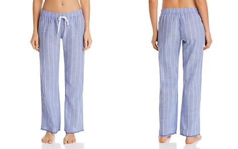 PJ Salvage Striped Woven PJ Pants - Bloomingdale's_2