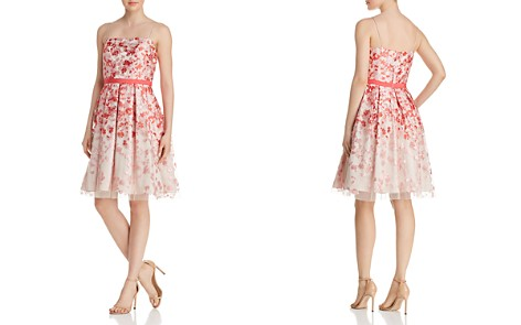 Eliza J Floral Organza Dress - Bloomingdale's_2
