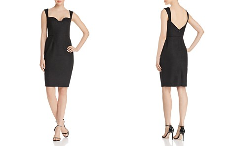 Aidan Mattox Textured Knit Dress - Bloomingdale's_2