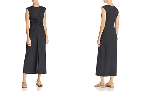 Theory Twist-Front Dress - Bloomingdale's_2