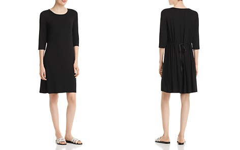 Eileen Fisher Drawstring-Back Dress - Bloomingdale's_2