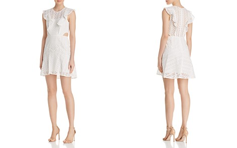 Bardot Eyelet Cutout Dress - Bloomingdale's_2