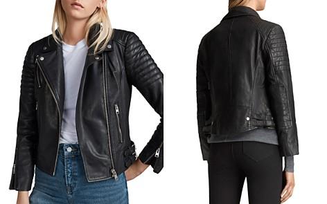 ALLSAINTS Papin Leather Biker Jacket - Bloomingdale's_2