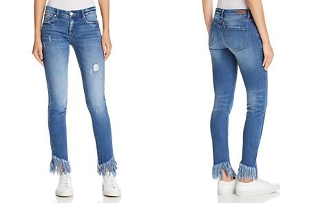 BLANKNYC Frayed Distressed Skinny Jeans in Low Key Judging - Bloomingdale's_2