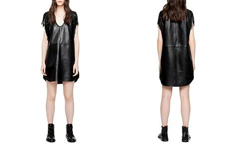 Zadig & Voltaire Raliz Leather Dress - Bloomingdale's_2