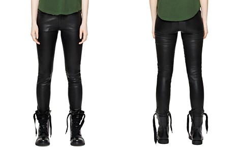 Zadig & Voltaire Phlame Leather Pants - Bloomingdale's_2
