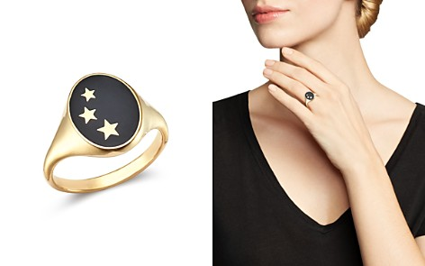 SUEL 14K Yellow Gold Constellation Signet Ring - Bloomingdale's_2
