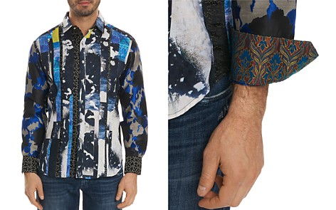 Robert Graham Limited Edition Mixed Pattern Regular Fit Button-Down Shirt - Bloomingdale's_2