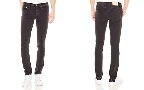Sandro Iggy Destroy Slim Fit Jeans in Gray - Bloomingdale's_2