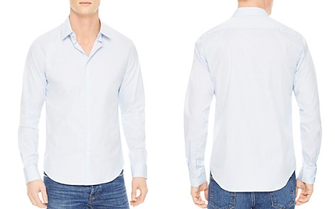 Sandro Seamless Stripes Slim Fit Button-Down Shirt - Bloomingdale's_2