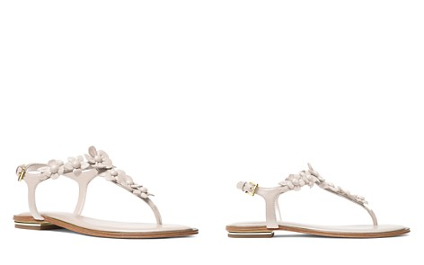 MICHAEL Michael Kors Women's Tricia Leather Thong Sandals - Bloomingdale's_2