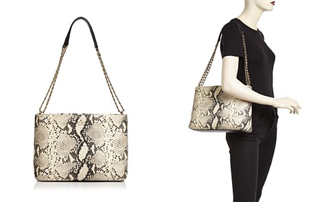 kate spade new york Emerson Lorie Snake-Embossed Leather Shoulder Bag - Bloomingdale's_2