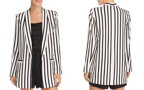 Alice + Olivia Kylie Striped Open-Front Blazer - Bloomingdale's_2