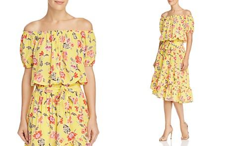 Joie Derfuta Off-the-Shoulder Silk Top - Bloomingdale's_2