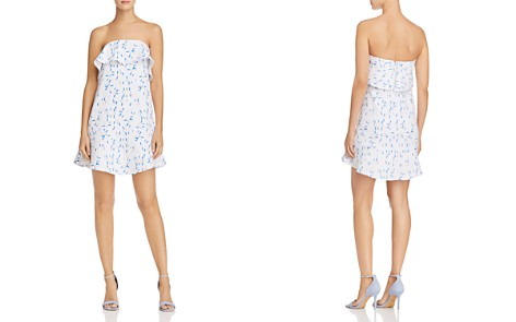 AQUA Ruffled Sprinkle-Print Strapless Dress - 100% Exclusive - Bloomingdale's_2