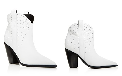 Sigerson Morrison Kalie Studded Leather Western Booties - Bloomingdale's_2