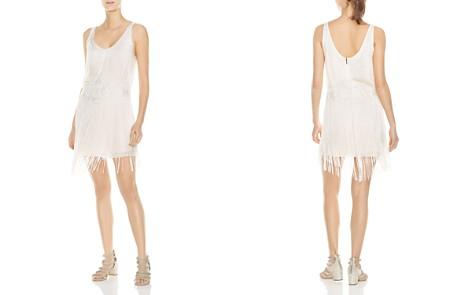 Haute Hippie Grandeur Fringed Embroidered Dress - Bloomingdale's_2