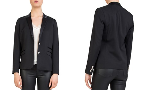 The Kooples Two-Button Stretch Blazer - Bloomingdale's_2