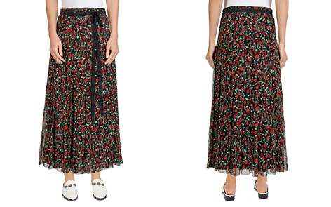 The Kooples Rosa Rosa Pleated Floral-Print Maxi Skirt - Bloomingdale's_2