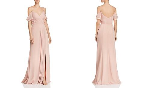 Watters Aldridge Cold-Shoulder Gown - Bloomingdale's_2