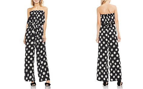VINCE CAMUTO Floral-Print Strapless Jumpsuit - Bloomingdale's_2