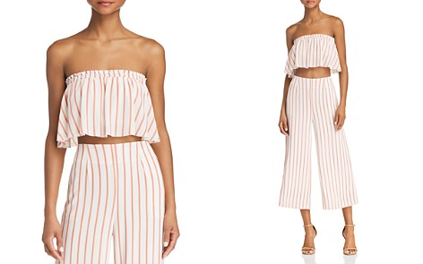 Sage the Label Aurelia Striped Strapless Cropped Top - Bloomingdale's_2