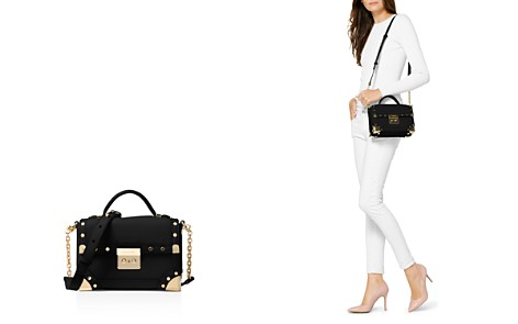 MICHAEL Michael Kors Cori Small Leather Trunk Bag - Bloomingdale's_2