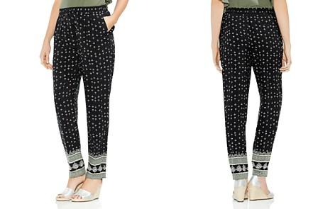 VINCE CAMUTO Fan Print Drawstring Pants - Bloomingdale's_2
