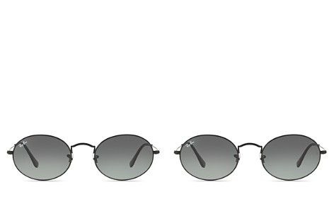 Ray-Ban Unisex Oval Metal Sunglasses, 51mm - Bloomingdale's_2