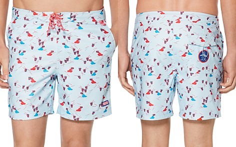 Original Penguin Slushie Print Swim Trunks - Bloomingdale's_2