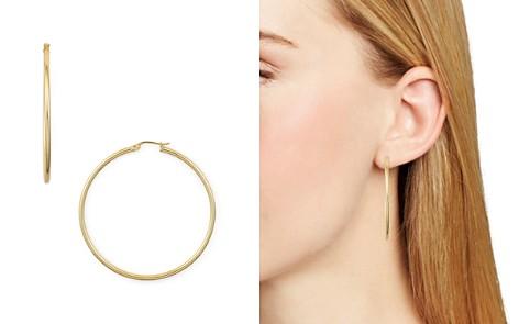 AQUA Medium Hoop Earrings - 100% Exclusive - Bloomingdale's_2