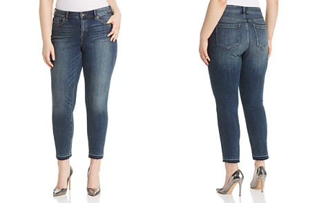 VINCE CAMUTO Plus Cropped Released-Hem Jeans in Mid Vintage - Bloomingdale's_2
