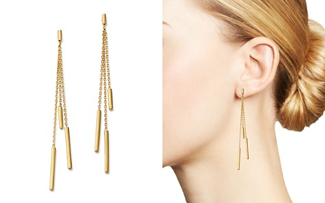 Bloomingdale's Triple Bar Drop Earrings in 14K Yellow Gold - 100% Exclusive _2