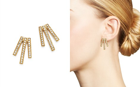 Moon & Meadow Diamond Triple Bar Earrings in 14K Yellow Gold, 0.20 ct. t.w. - 100% Exclusive - Bloomingdale's_2